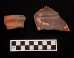 Redware Pitcher Fragments